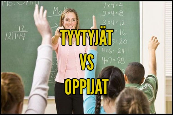 kummat pärjäävät paremmin-tyytyjät vai oppijat