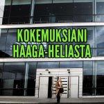 Kokemuksiani Haaga-Heliassa opiskelusta