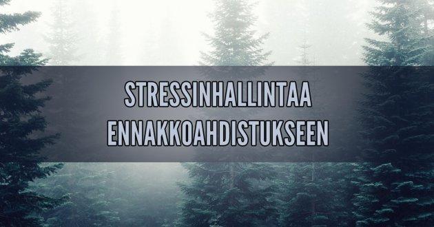 Stressinhallintatekniikka ennakkoahdistuksen vähentämiseen Huolipäiväkirja
