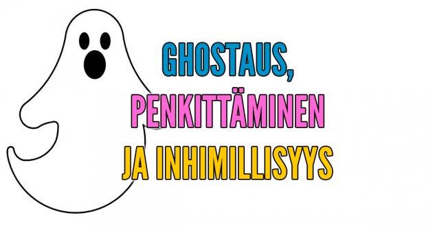 Mitä jos ghostaaja onkin ihan hyvä tyyppi ja muita asiattoman inhimillisiä ajatuksia Hesarin mielipidekirjoituksista