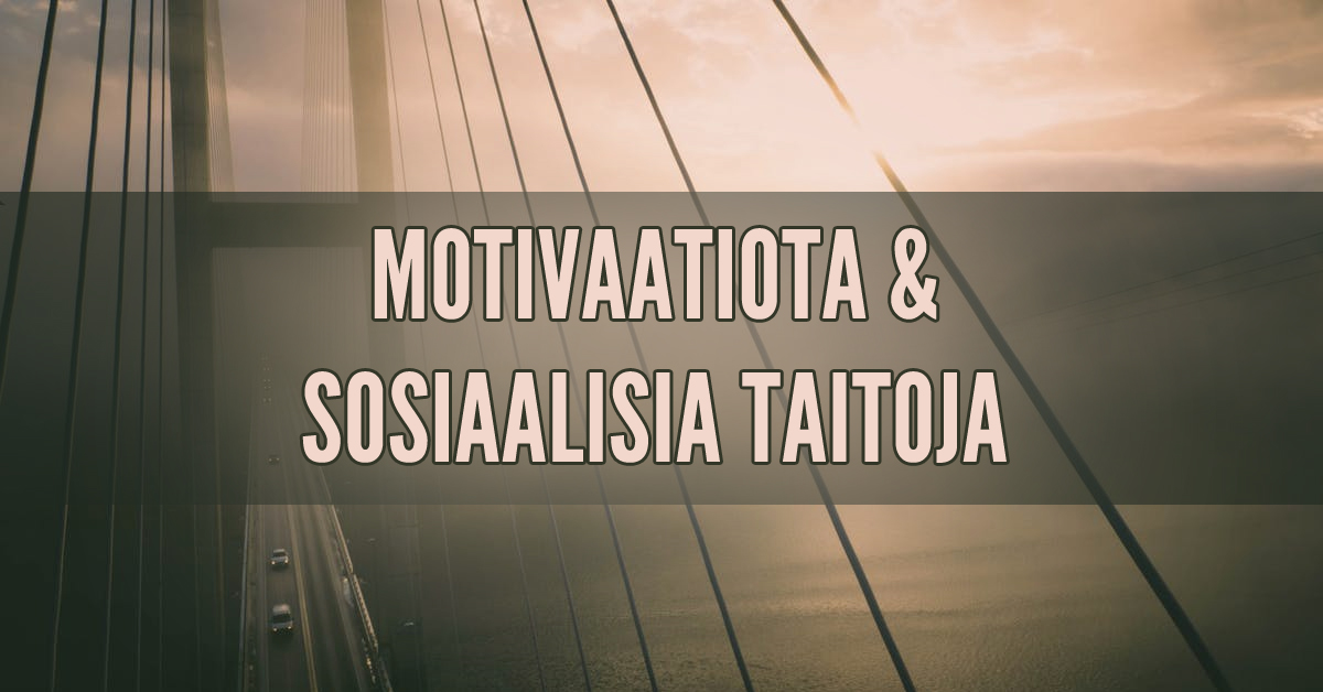 motivaatiota